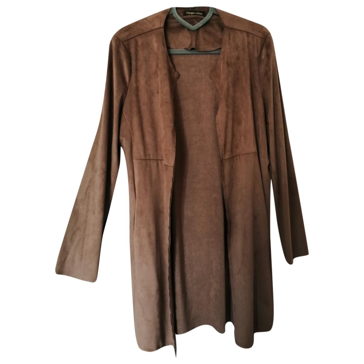 - Veste   pour femme - camel