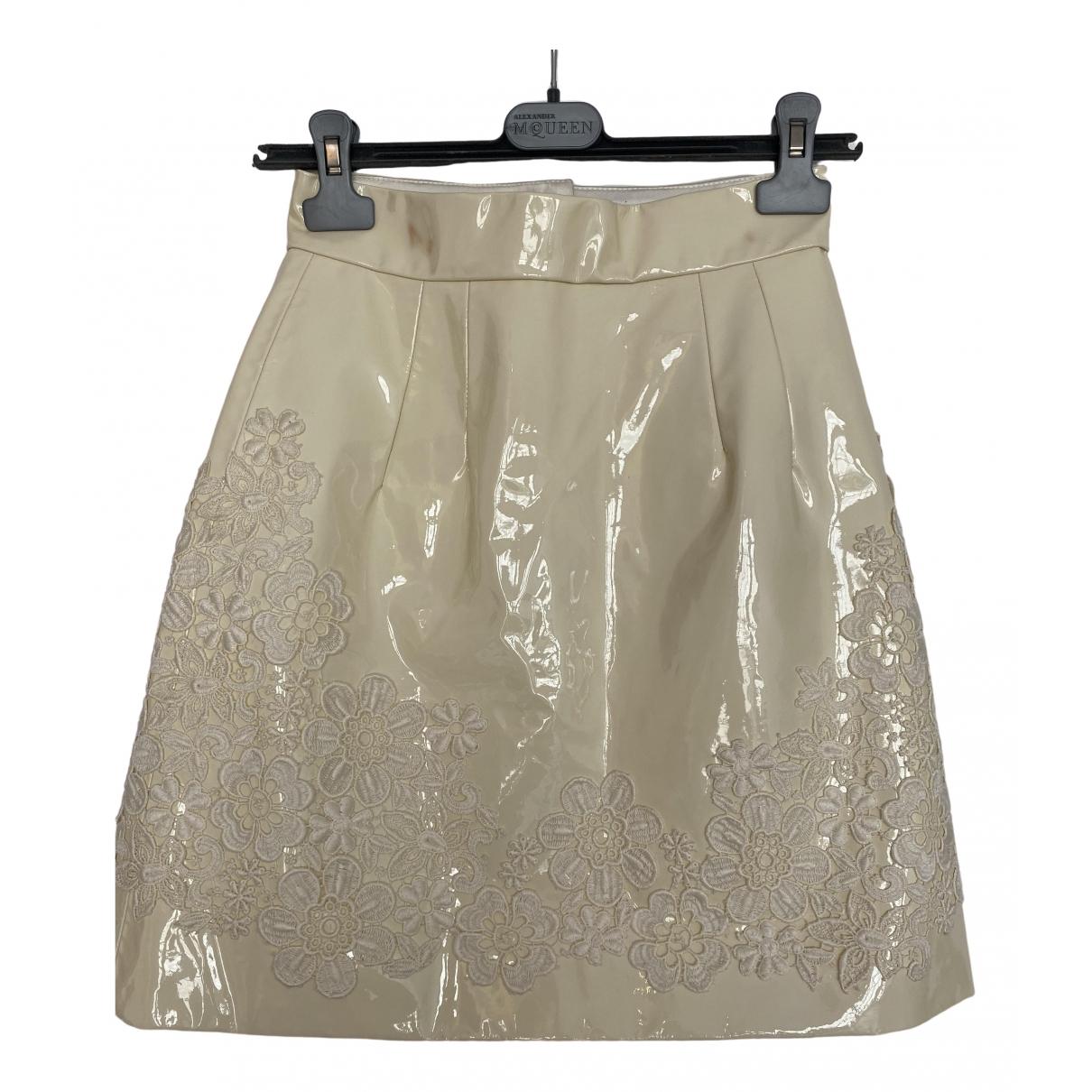 Mini falda de Charol Dolce & Gabbana