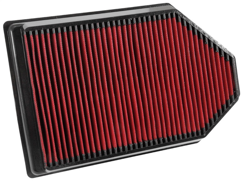 Spectre HPR11257 Driver Side Air Intake Kit - Polished w/Red Filter Chevelle LS Blade MAFS 1968-1972