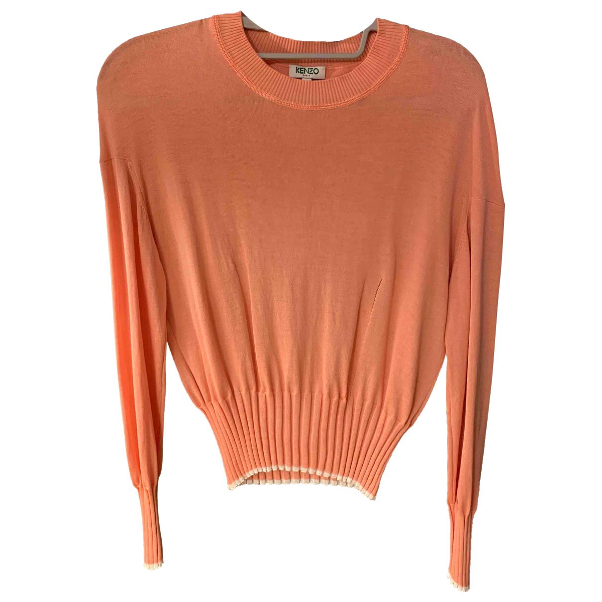 Kenzo \N Pullover in  Rosa Baumwolle