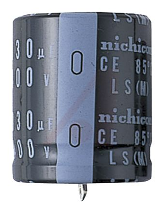 Nichicon 68μF Electrolytic Capacitor 450V dc, Through Hole - LLS2W680MELY