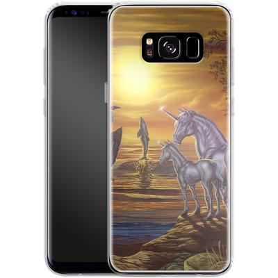 Samsung Galaxy S8 Silikon Handyhuelle - Ed Beard Jr - Mystical Occurance von TATE and CO