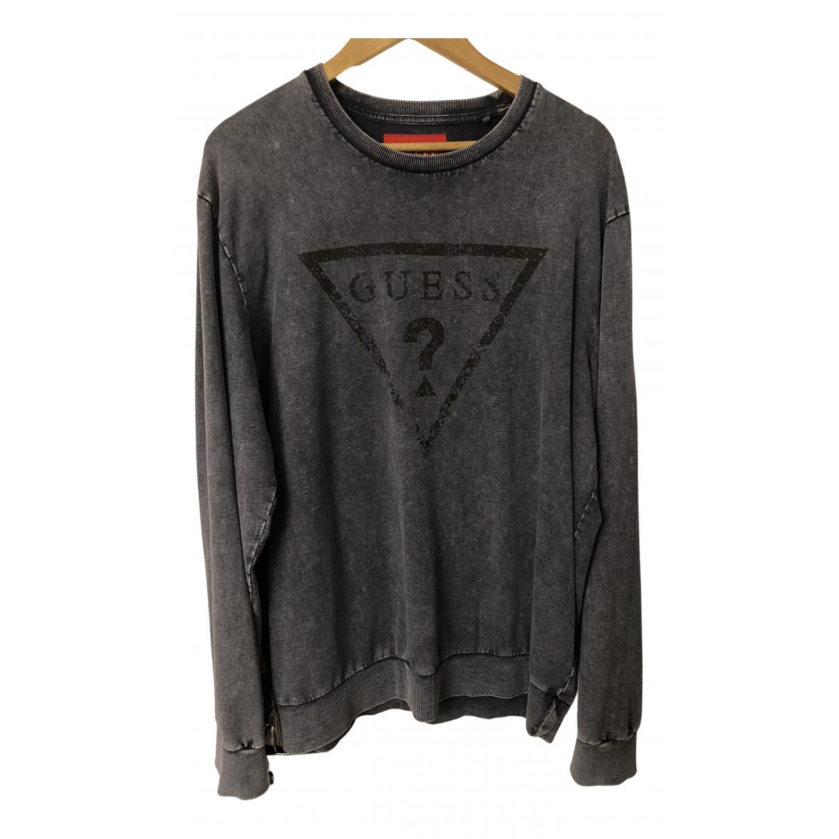 Guess \N Pullover.Westen.Sweatshirts  in  Blau Baumwolle