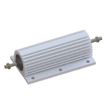 RS PRO Aluminium Housed Wire Wound Panel Mount Resistor, 680Ω ±5% 300W