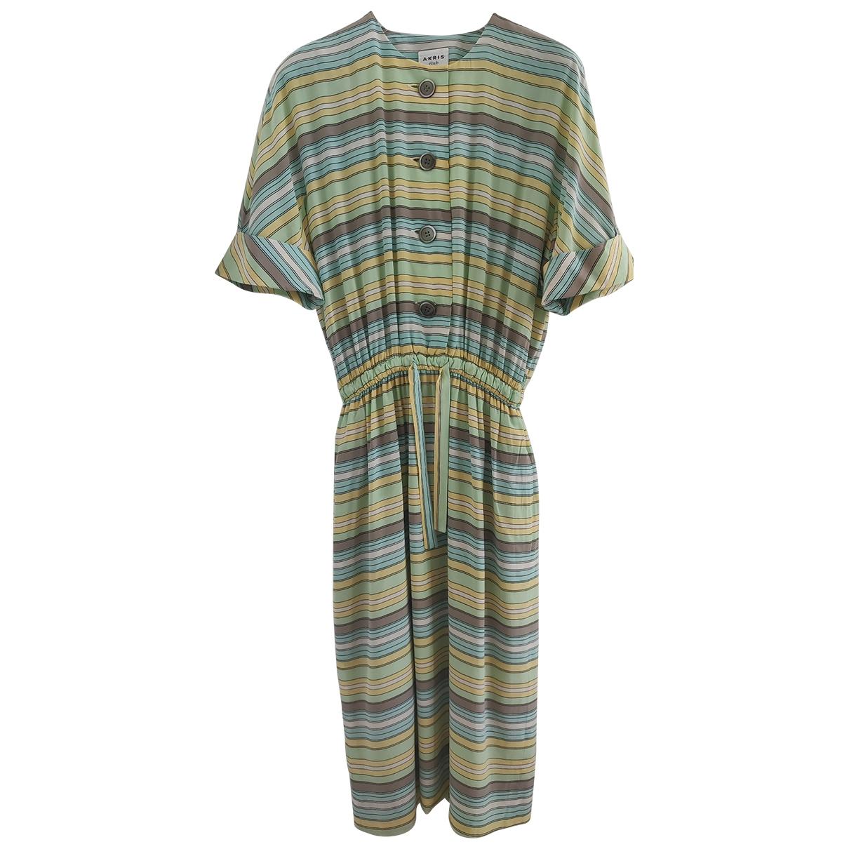 Akris - Robe   pour femme en soie