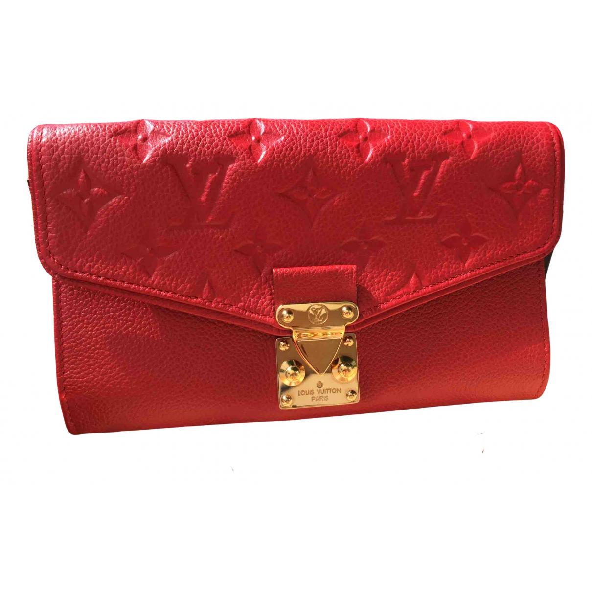 Louis Vuitton - Sac a main Saint-Germain pour femme en cuir - rouge