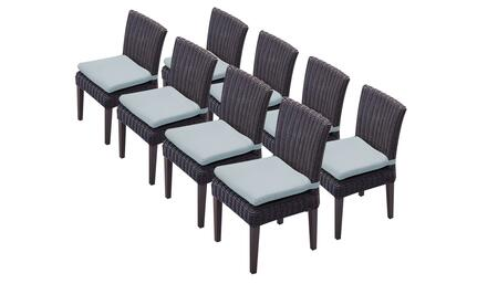 TKC094b-ADC-4x-C-SPA 8 Venice Side Chairs - Wheat and Spa