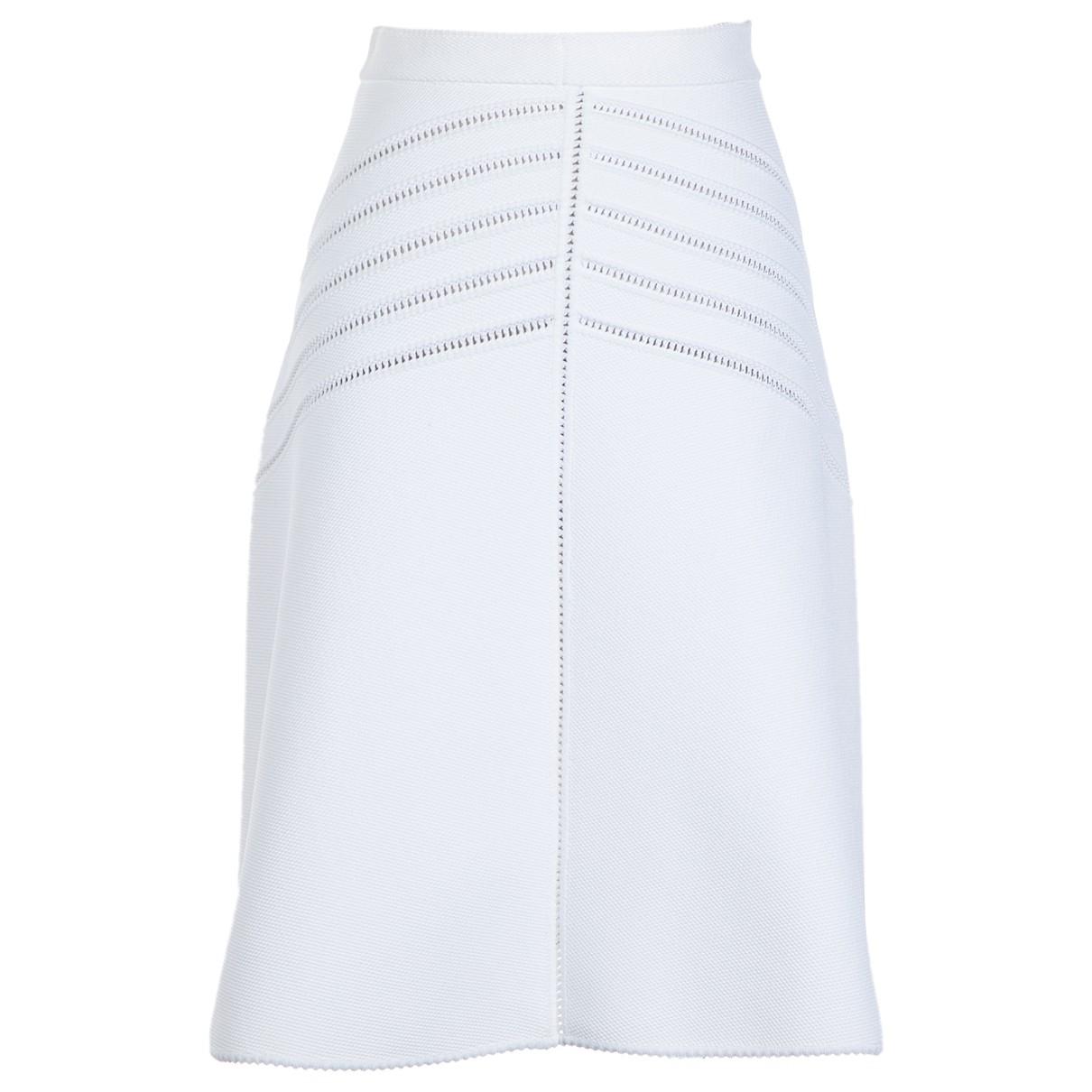 Alaïa \N White skirt for Women 40 FR