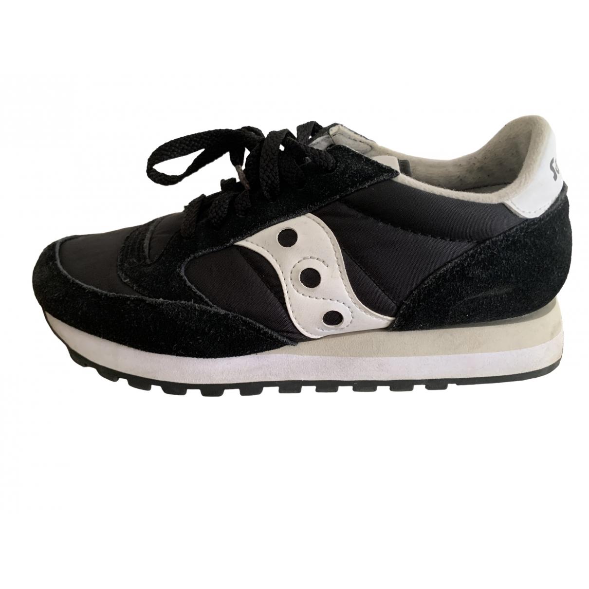 Saucony \N Black Cloth Trainers for Women 37 EU