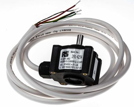 Hengstler Incremental Encoder  RS38-O/1000EQ.11KB 1000 ppr 10000rpm Solid 10 → 30 V dc