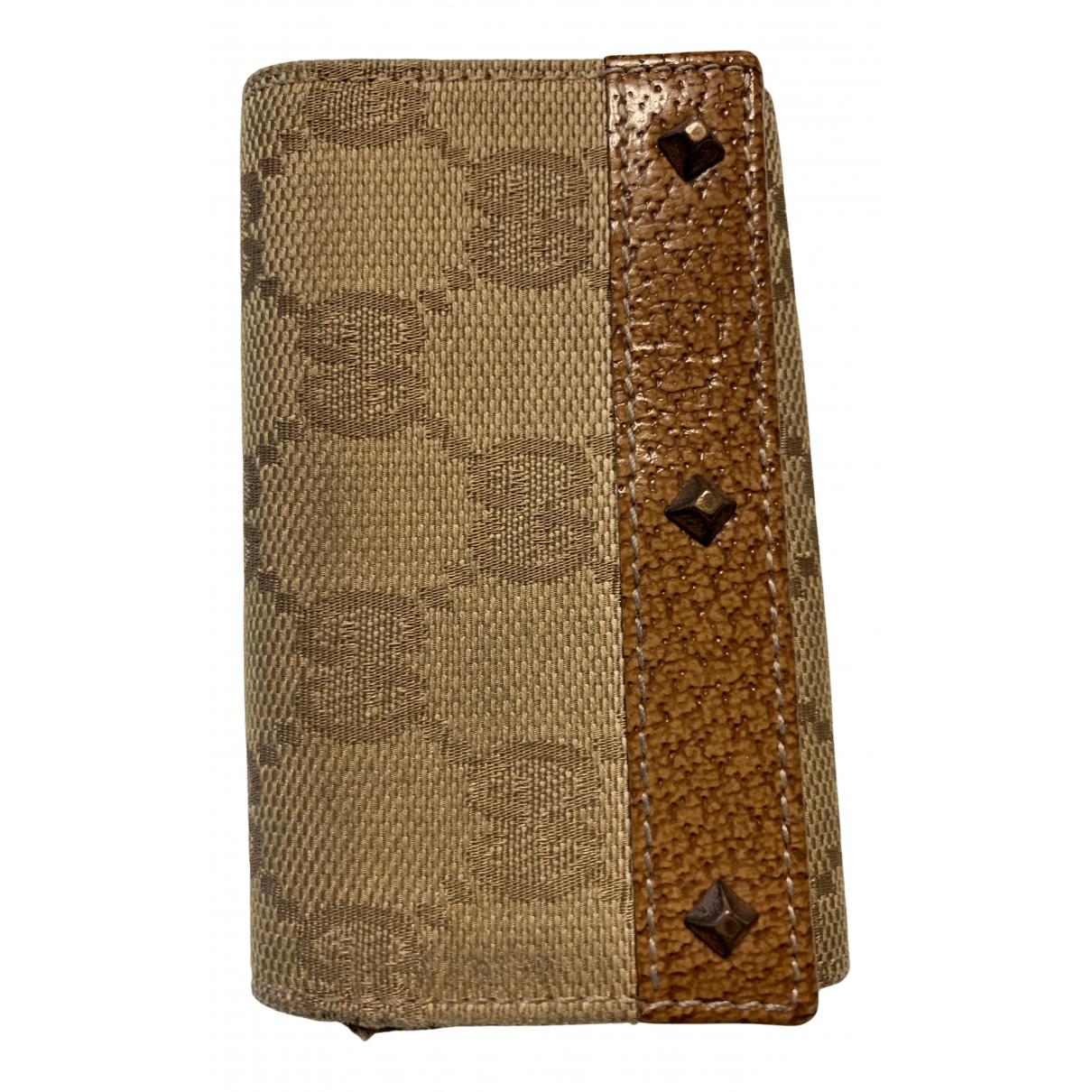 Gucci - Petite maroquinerie Ophidia pour femme en toile - beige
