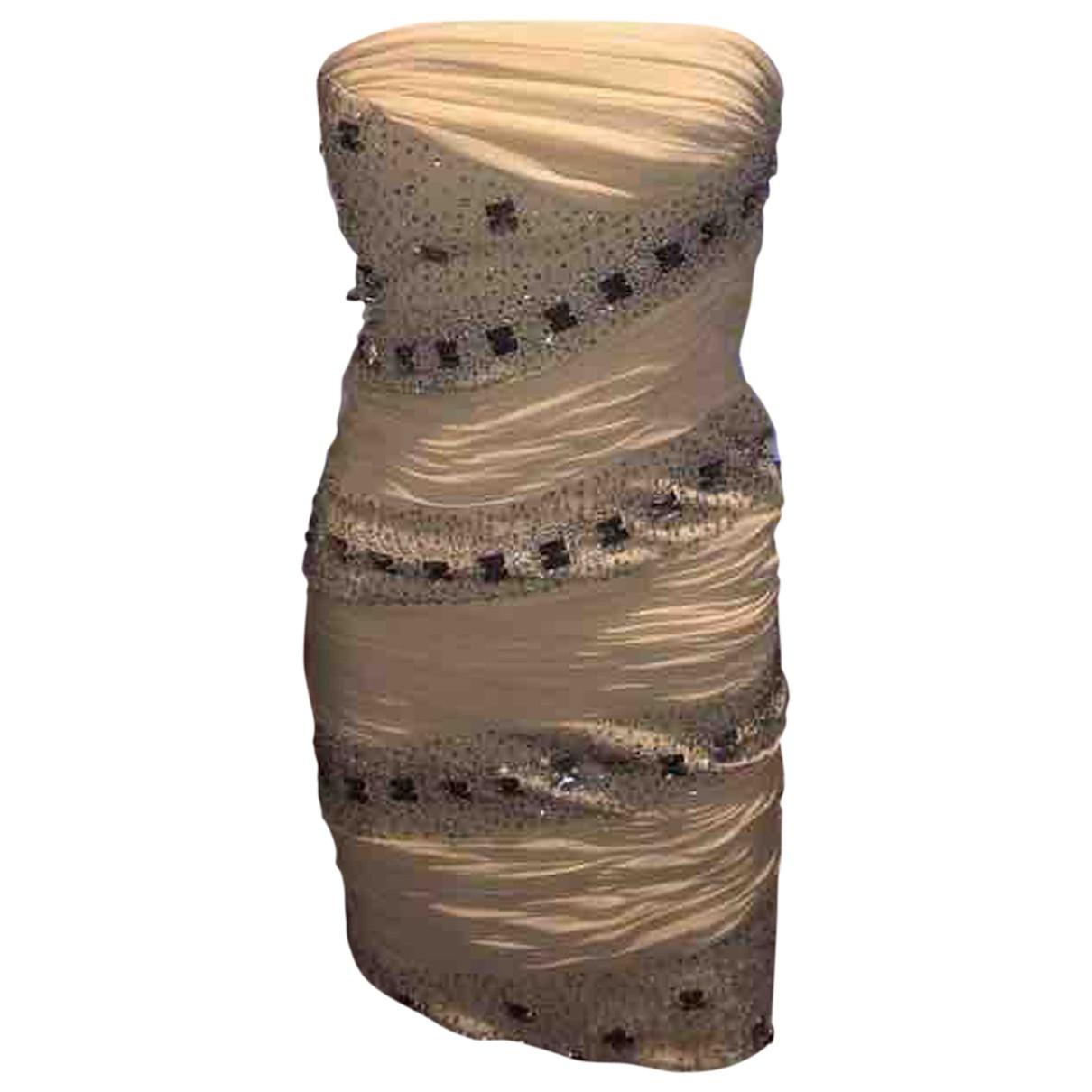 Roberto Cavalli - Robe   pour femme en soie - blanc