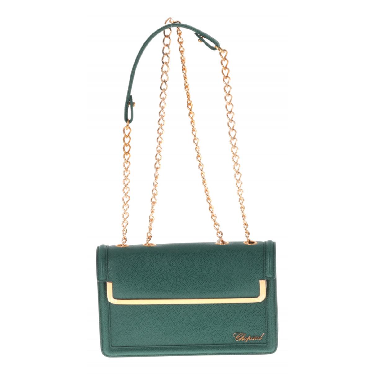Chopard N Green Leather handbag for Women N