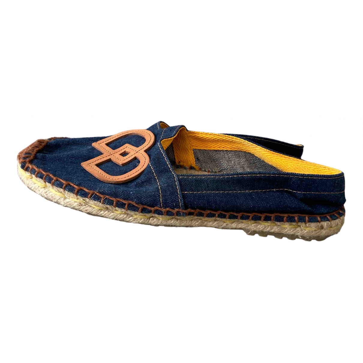 Dsquared2 \N Espadrilles in  Blau Denim - Jeans