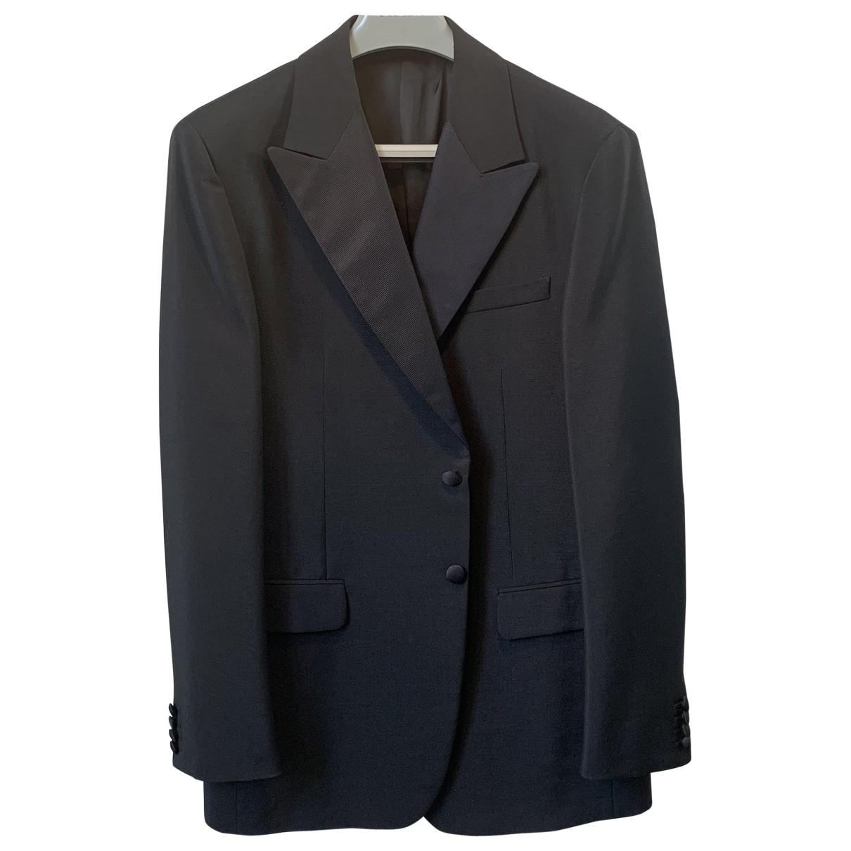 Prada - Costumes   pour homme en laine - noir