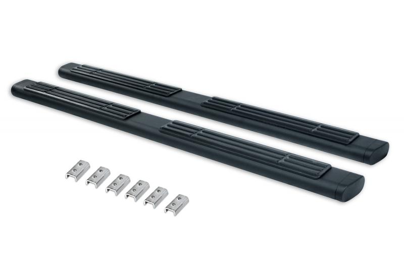 Go Rhino 686415587T 6 OE Xtreme Textured Black SideSteps Kit - 87 Long bars + Brackets Ford