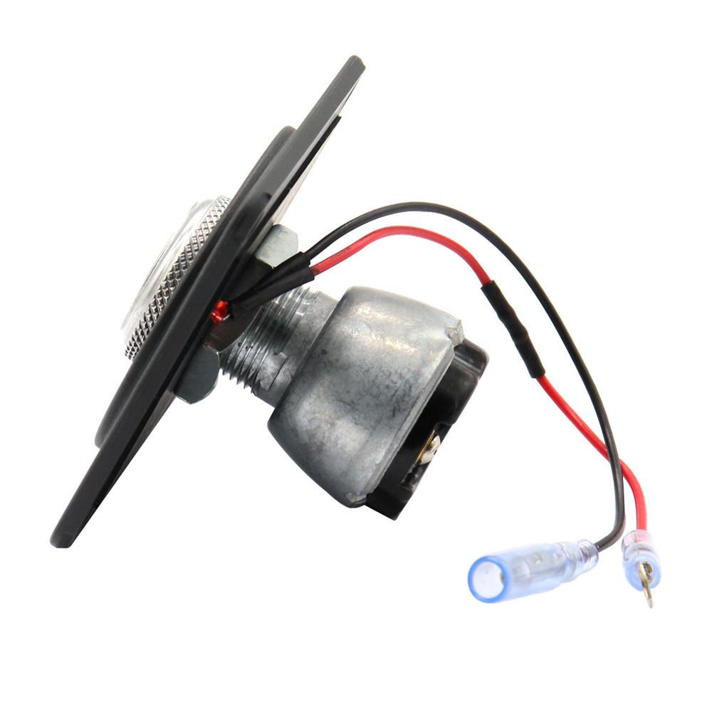 Universal Car Boat LED Key Ignition Switch Panel Barrel Engine Start 2-Position