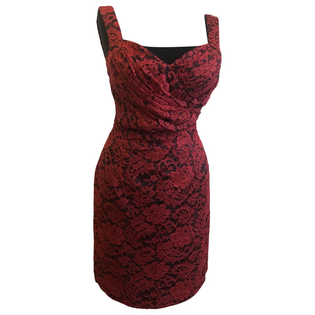 Dolce & Gabbana \N Red dress for Women 40 IT