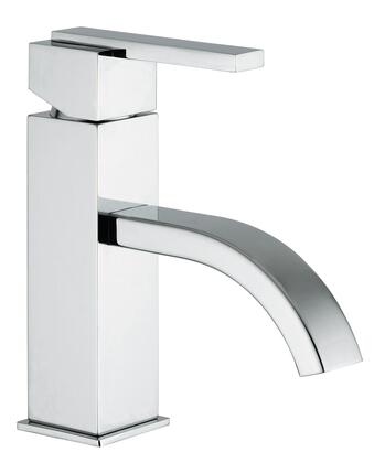 15360-120 Single Lever Handle Lavatory Faucet With Classic Ribbon Spout  Designer Polished Gold