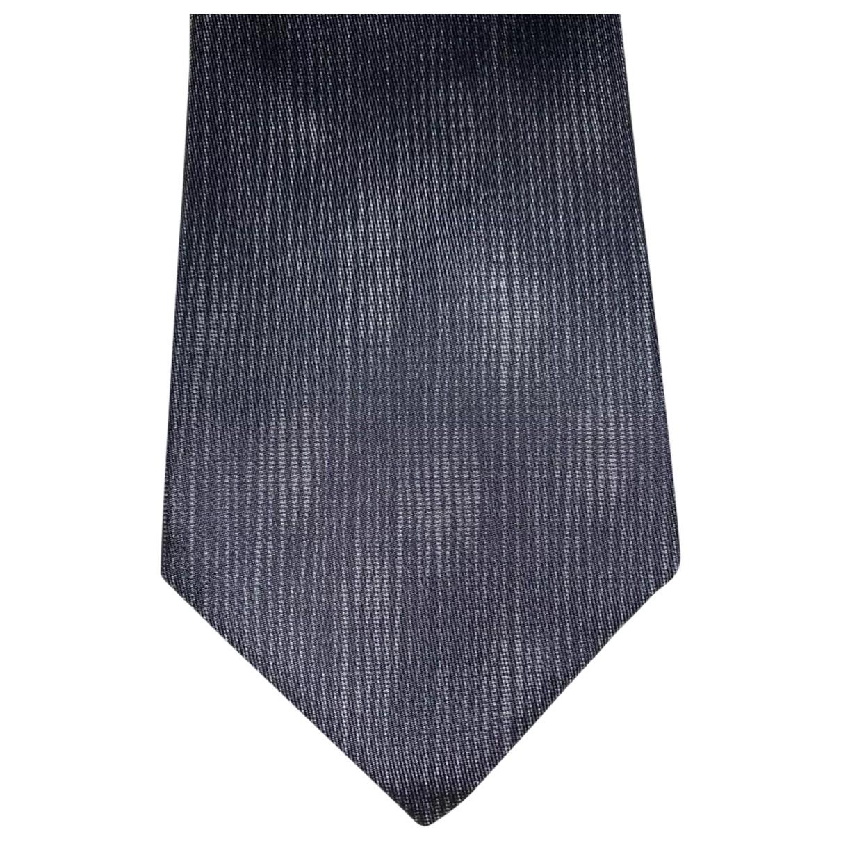 Hermes - Cravates   pour homme en soie - gris