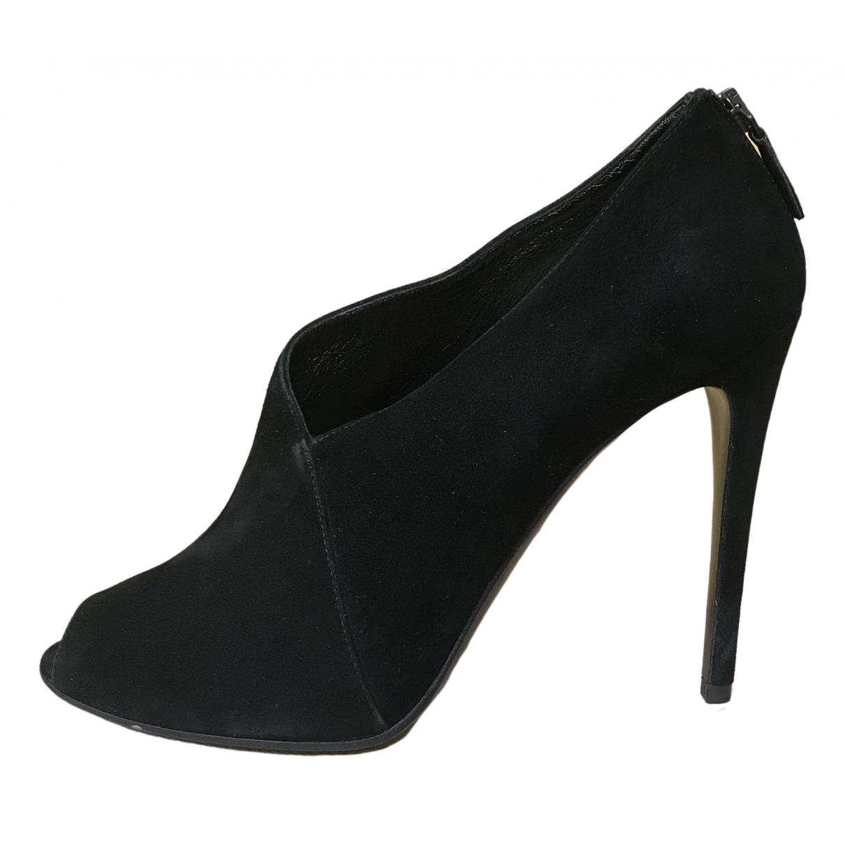 Prada \N Black Suede Sandals for Women 40.5 EU