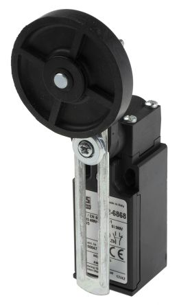 RS PRO , Snap Limit Switch - Thermoplastic Fibreglass, NO/NC, Adjustable Lever, 400V, IP65