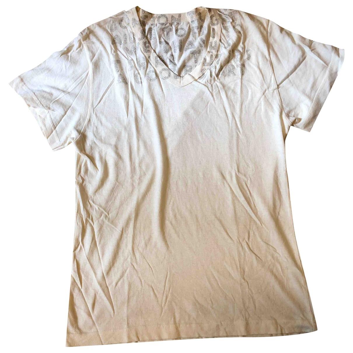 Maison Martin Margiela \N Beige Cotton T-shirts for Men S International