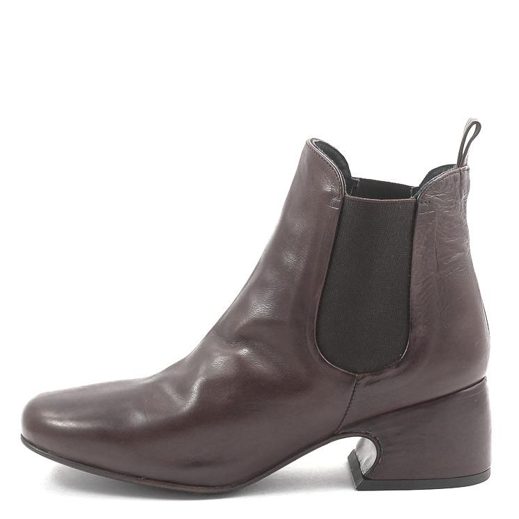 P. Monjo, P-1359 Lidia Women's Bootees, dark brown Größe 42
