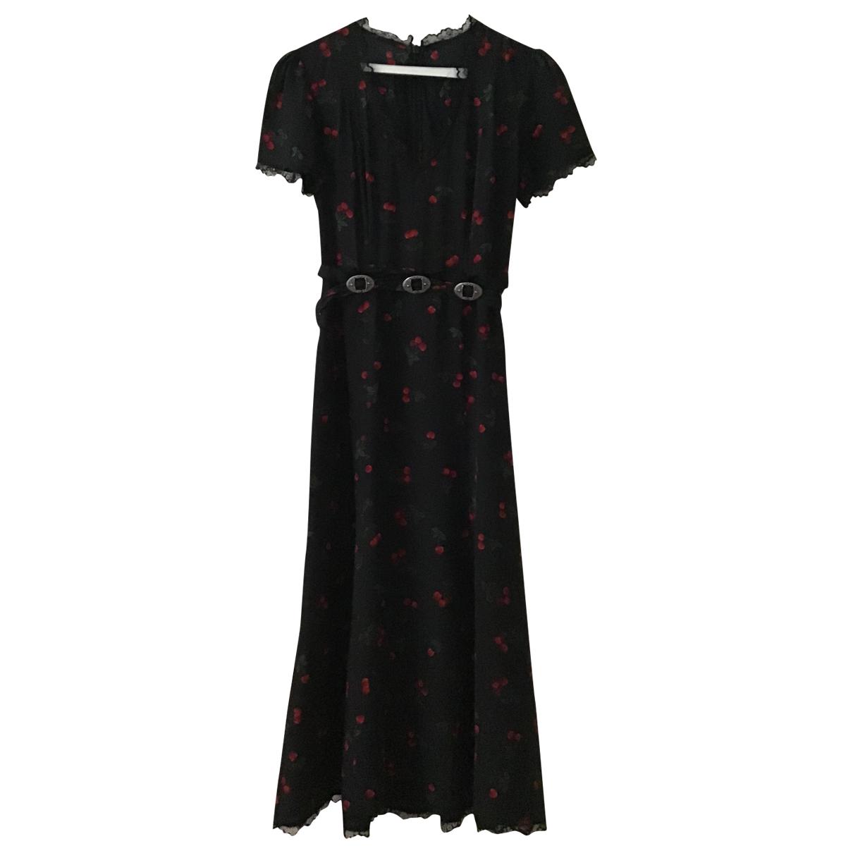 The Kooples N Blue Silk dress for Women 1 0-5