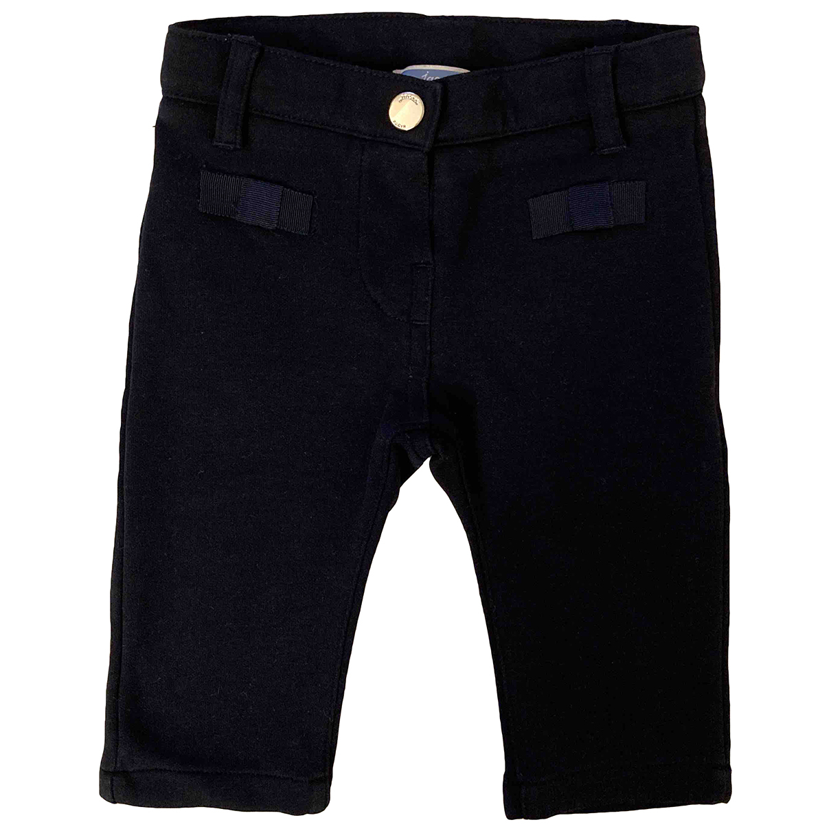 Jacadi N Blue Cotton Trousers for Kids 6 months - up to 67cm FR