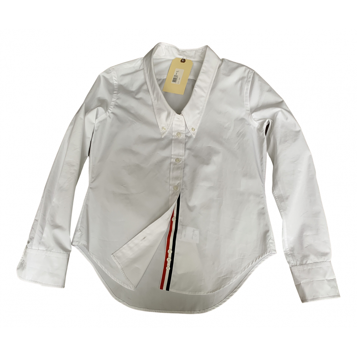 Thom Browne \N White Cotton  top for Women 38 FR
