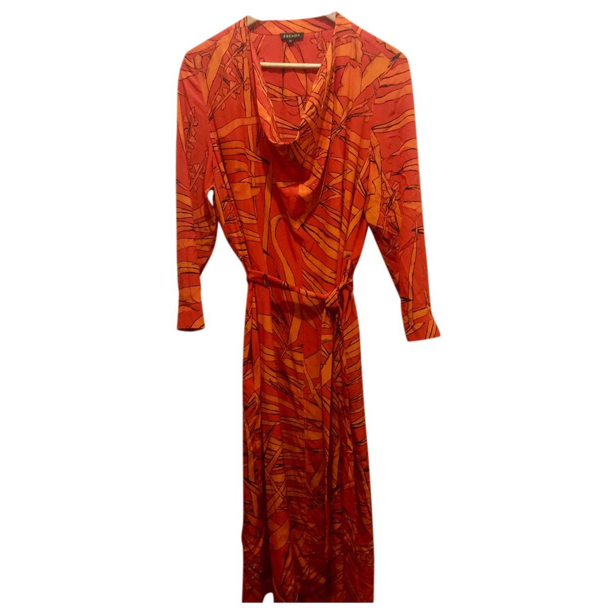 Escada N Multicolour Silk dress for Women 38 FR
