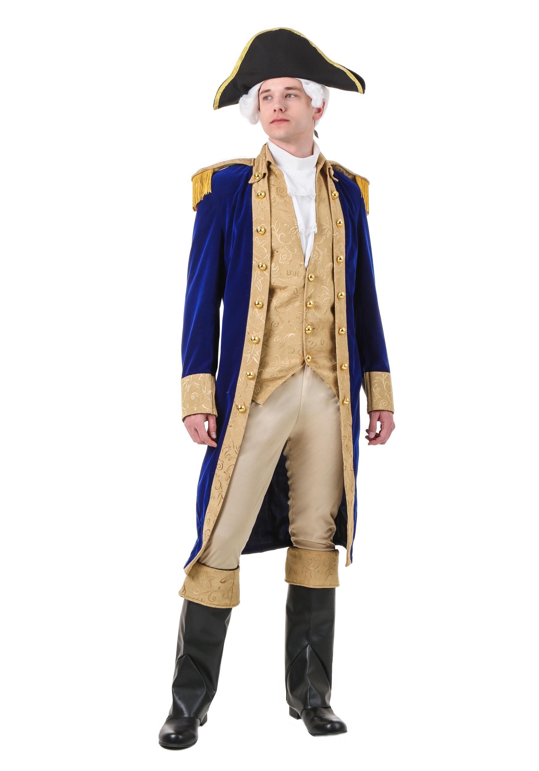 George Washington Costume for Adults | Historical Costume