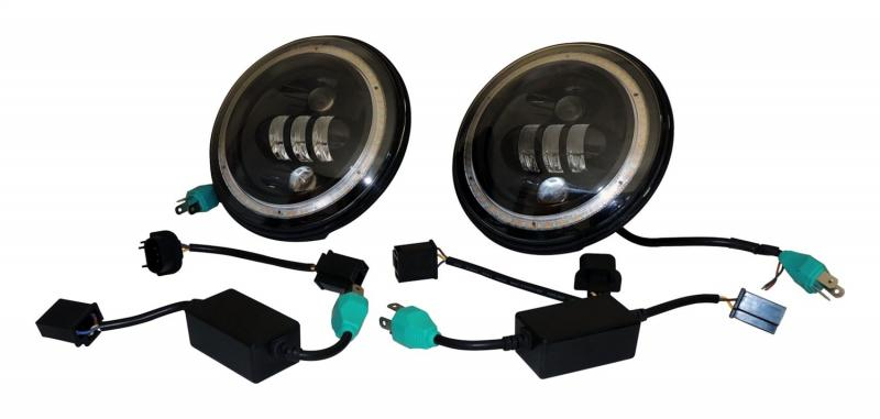 RT Offroad RT28105 LED Headlamp Kit Jeep