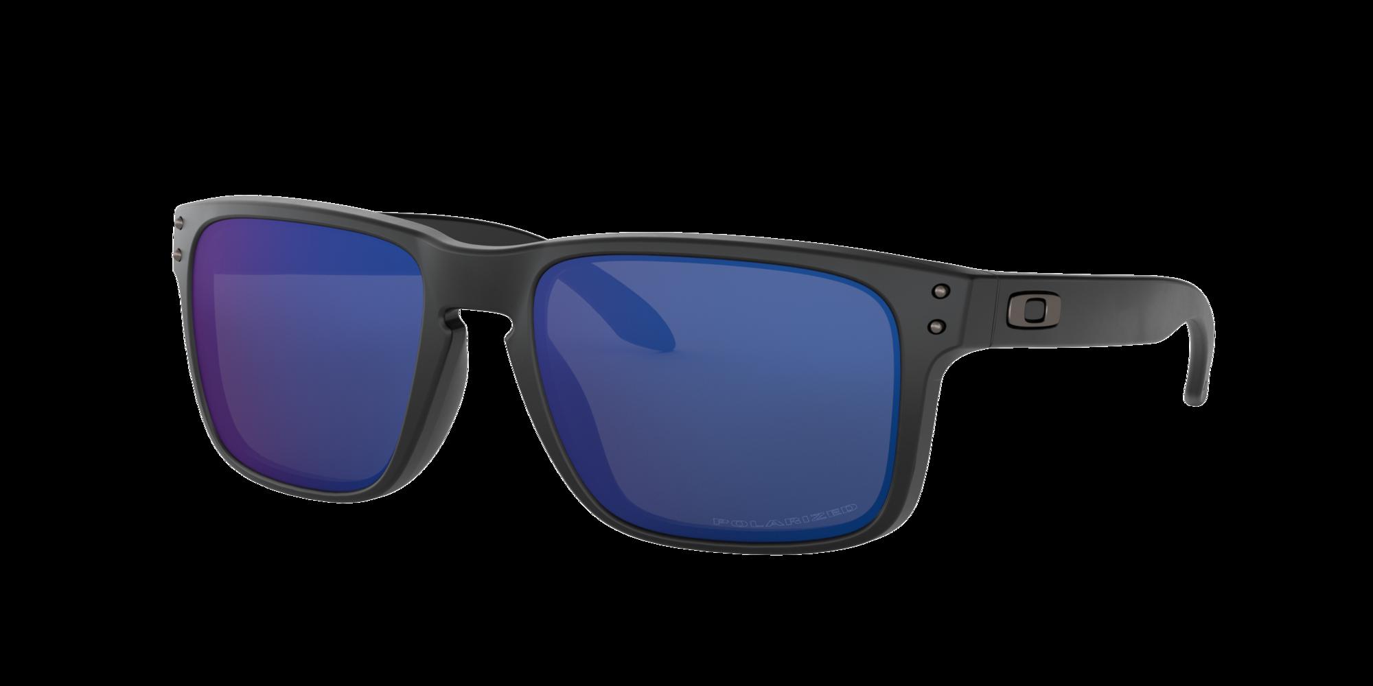 Oakley Unisex  OO9102 Holbrook™ -  Frame color: Negro mate, Lens color: Azul, Size 57-18/137