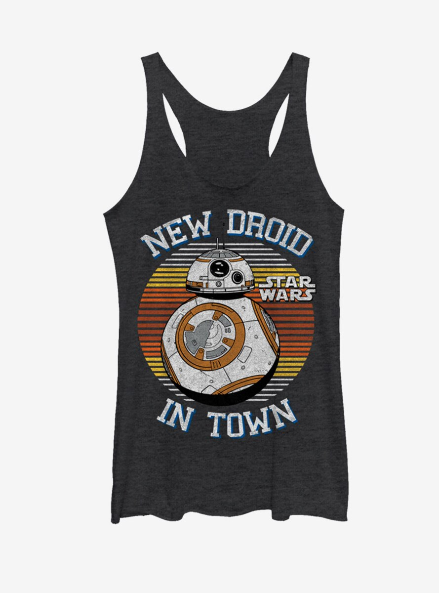 Star Wars BB-8 New Droid in Town Womens Tank