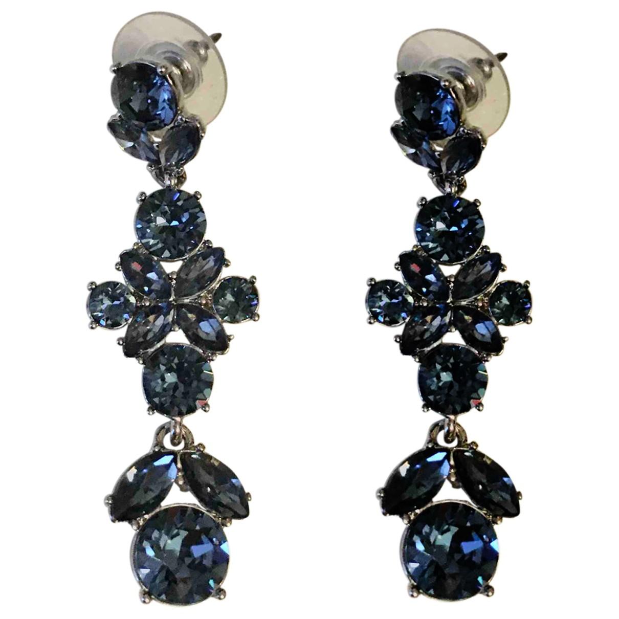 Givenchy - Boucles doreilles   pour femme en metal - bleu