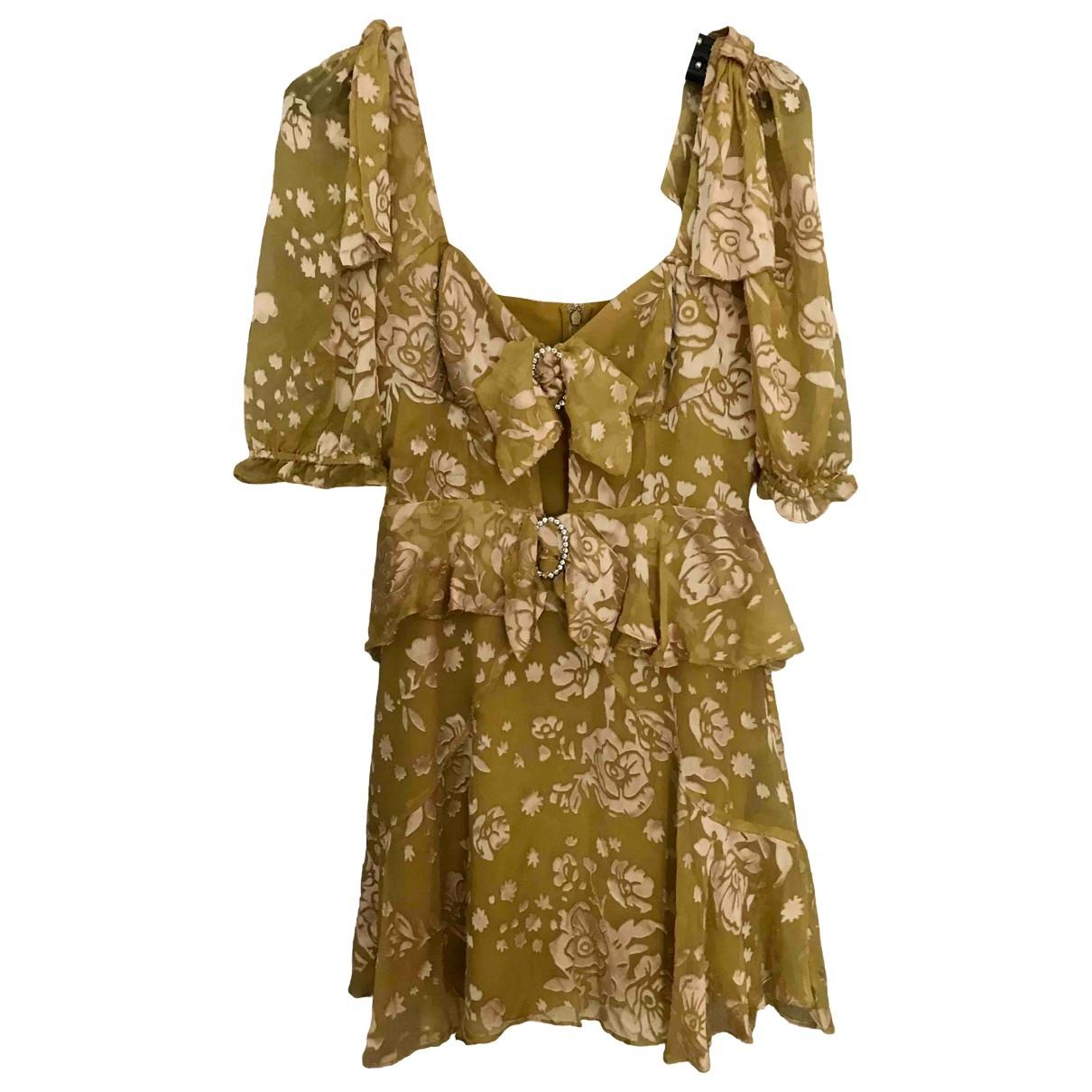 For Love & Lemons - Robe   pour femme - jaune