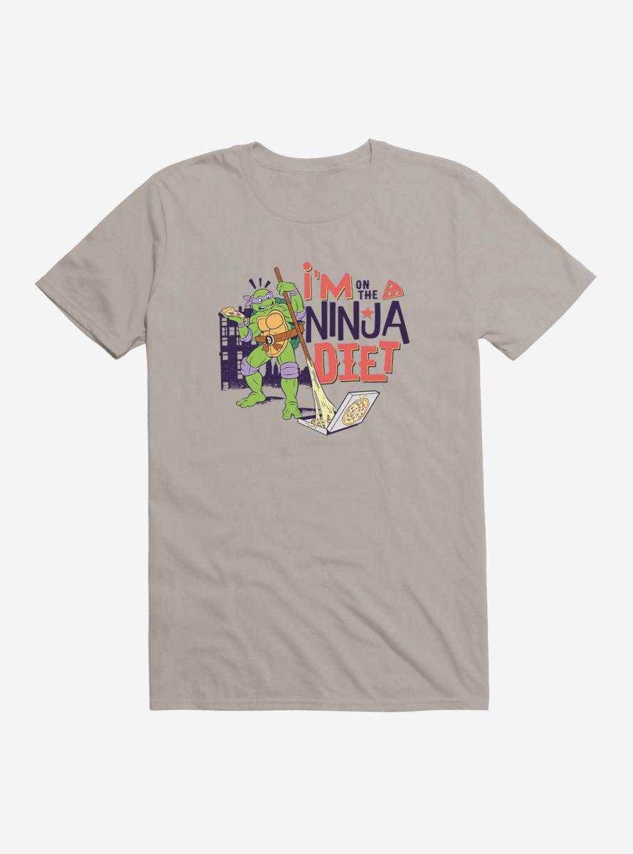 Teenage Mutant Ninja Turtles Donatello On The Ninja Diet T-Shirt