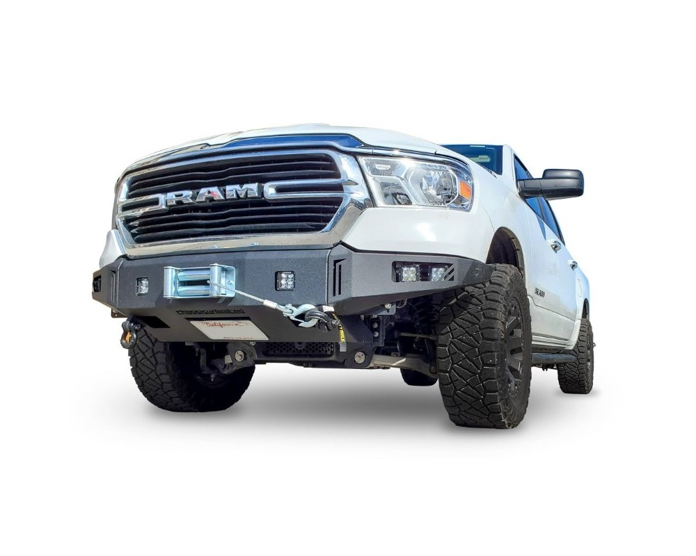 Chassis Unlimited CUB940102 RAM Front Winch Bumper For 19-20 RAM 1500 Sensors Included Octane Series