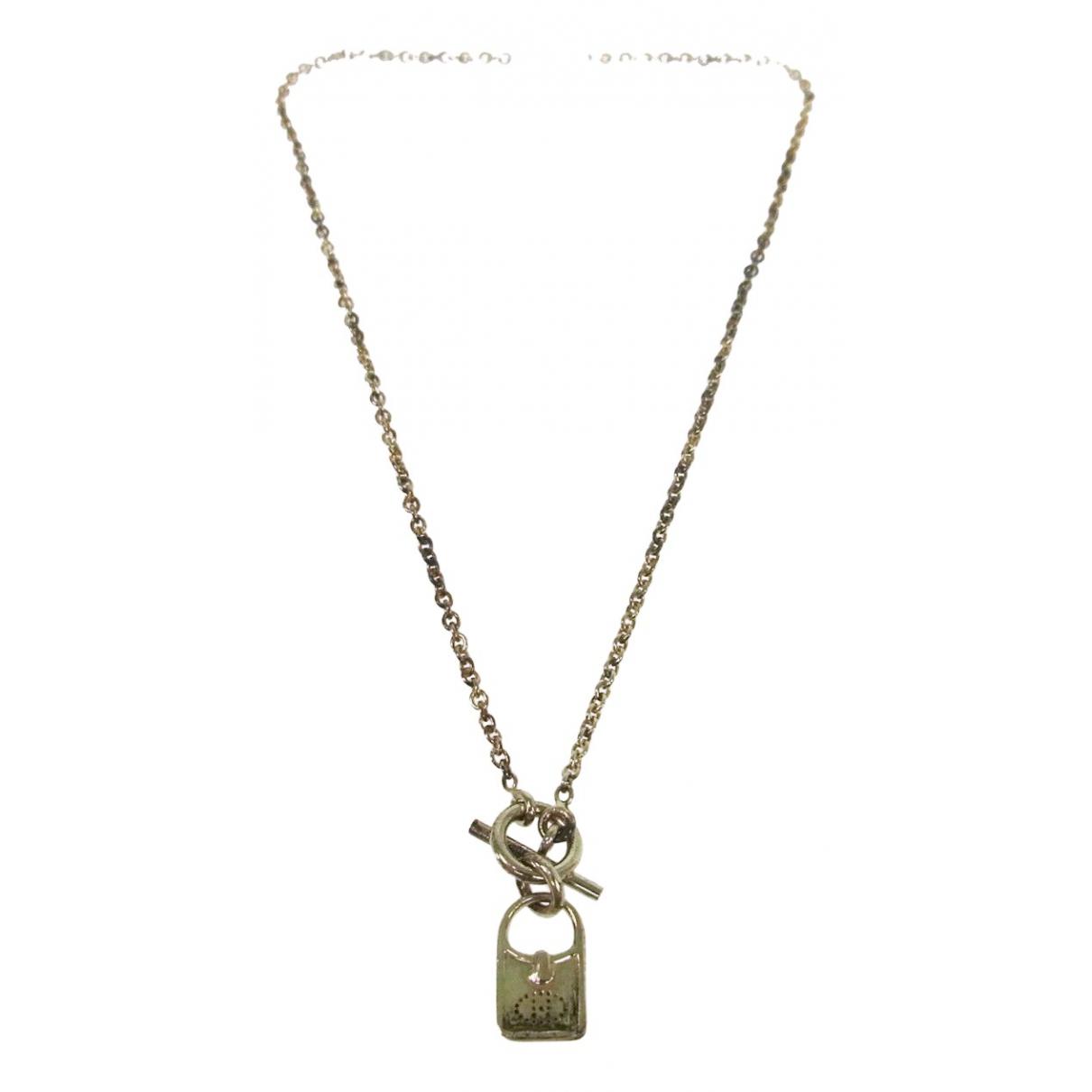 Hermes - Collier   pour femme en metal
