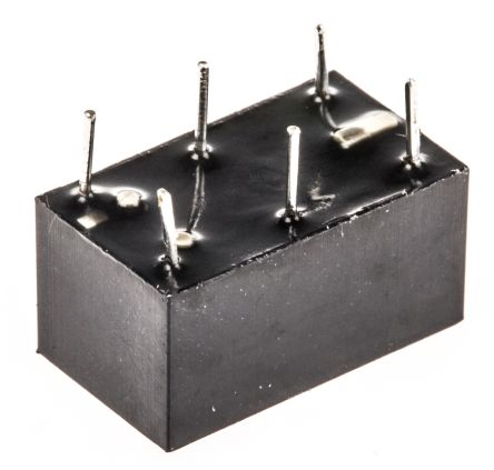 TE Connectivity , 5V dc Coil Non-Latching Relay SPDT, 1A Switching Current PCB Mount Single Pole (40)