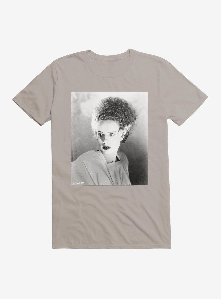 Universal Monsters Bride Of Frankenstein Movie Frame T-Shirt