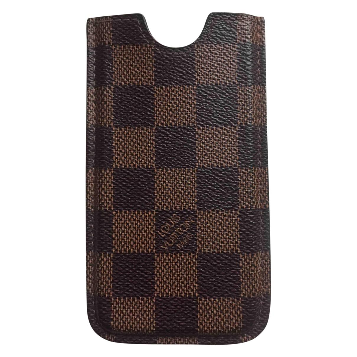 Louis Vuitton \N Accessoires in  Braun Leder