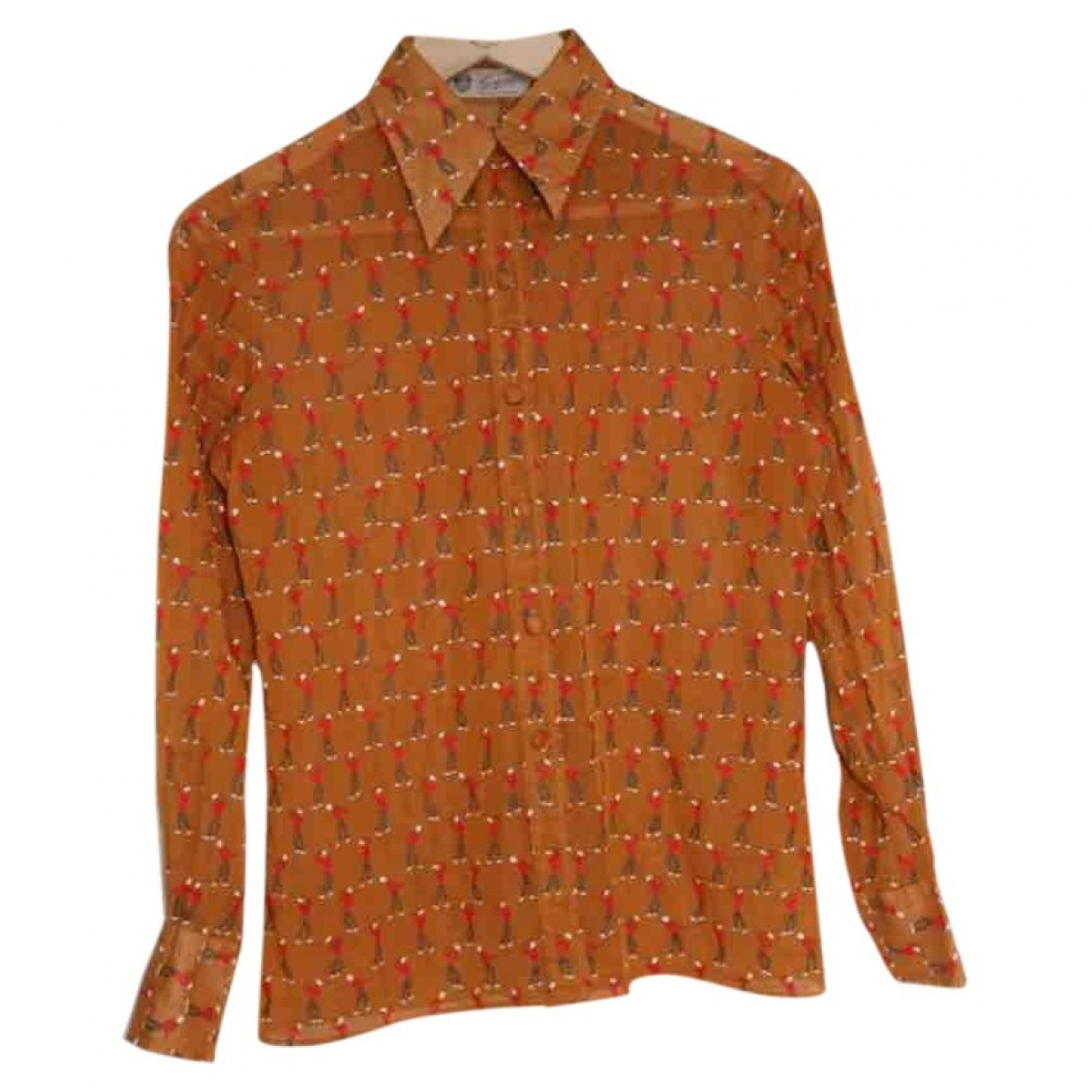 Gucci \N Camel Cotton  top for Women S International