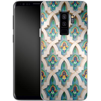 Samsung Galaxy S9 Plus Silikon Handyhuelle - Moroccan Mosaic von Omid Scheybani
