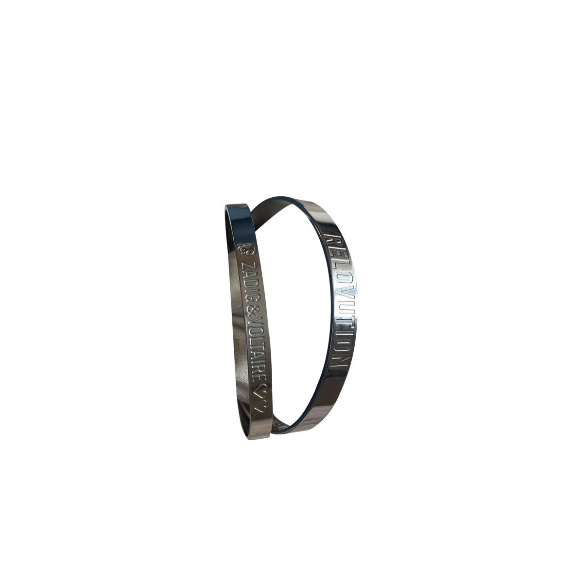 Zadig & Voltaire \N Silver Steel bracelet for Women \N