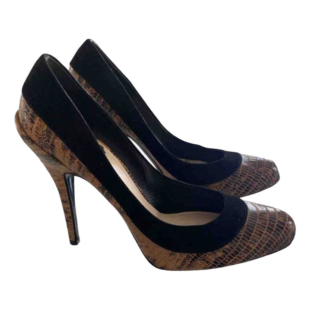 Dior \N Leather Heels for Women 36.5 IT