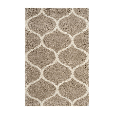Safavieh Hudson Shag Collection Maria Geometric Area Rug, One Size , Multiple Colors