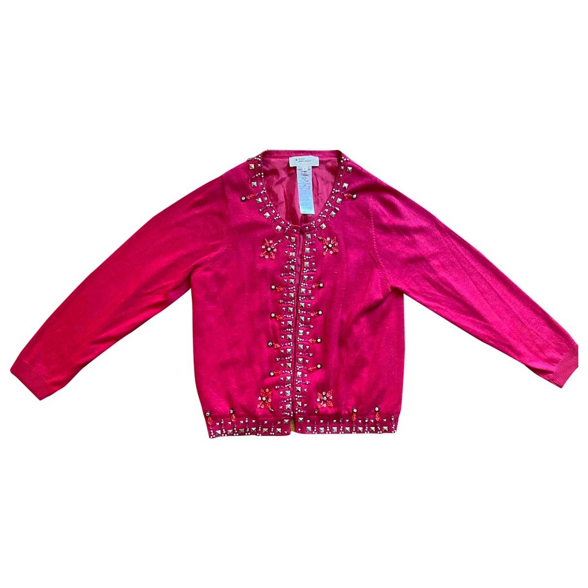 Isabel Marant Etoile \N Pink Silk Knitwear for Women 2 0-5